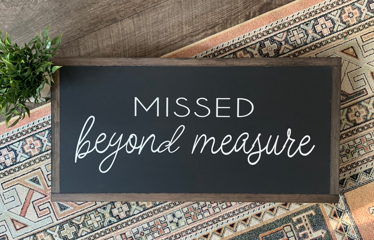 Image of Missed Beyond Measure
