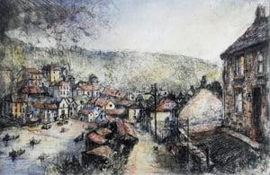 """Image of Port Isaac, Cornwall aka """"Portwenn"""""""