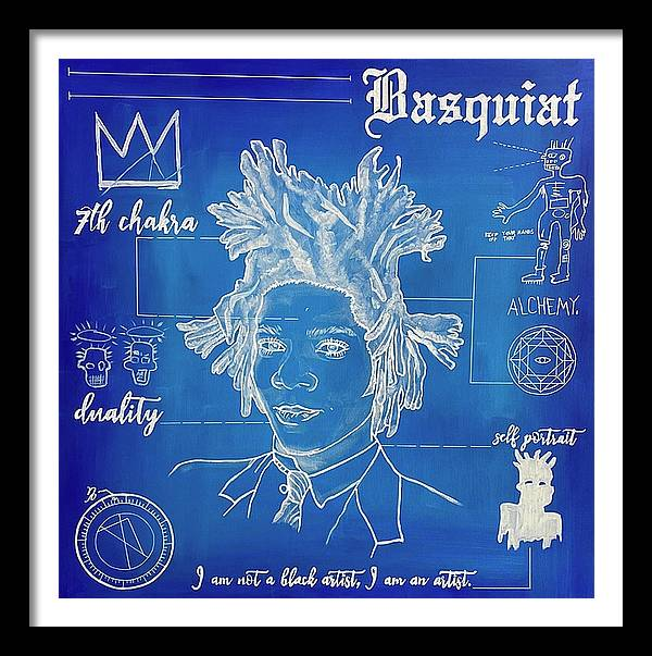 "Image of ""Basquiat"" Blueprint Series Limited Edition Prints"