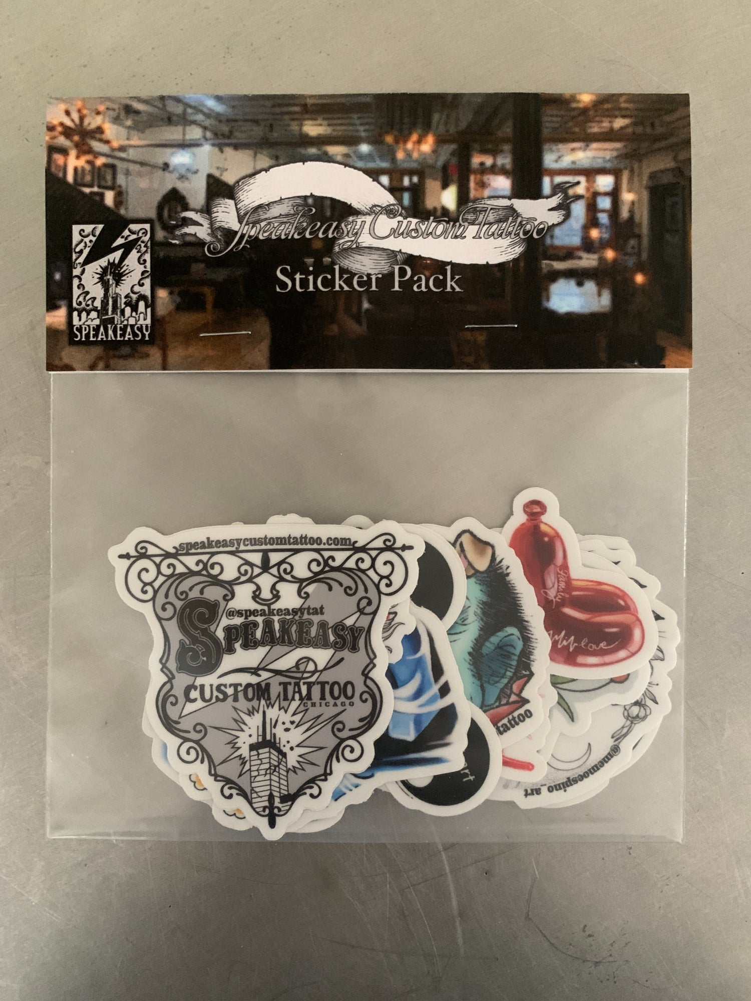Image of Speakeasy 10 Sticker Pack