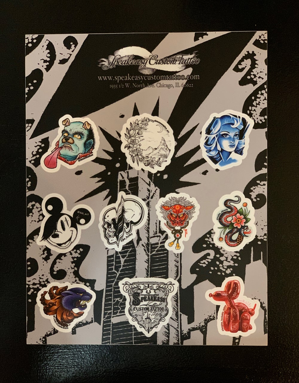 Image of Speakeasy Sticker Sheet
