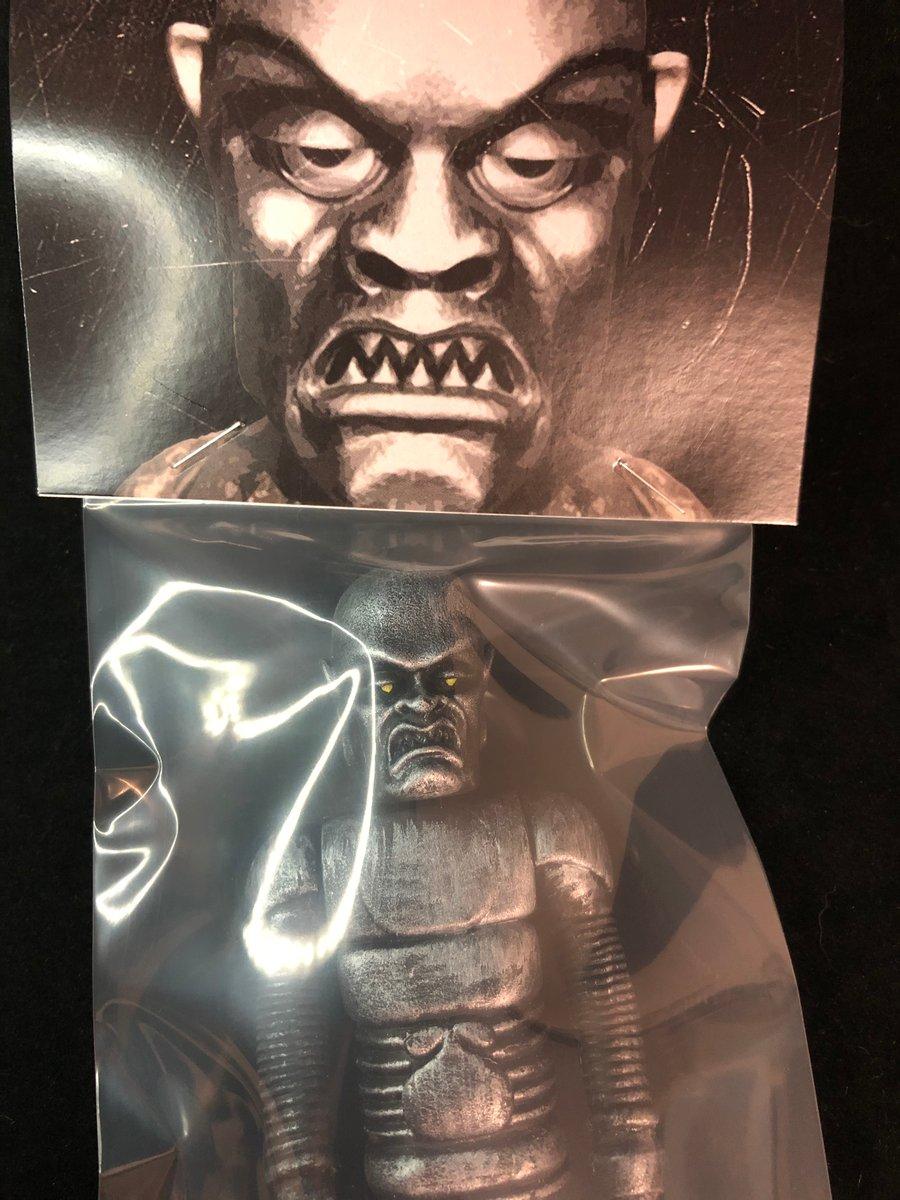 "Image of Hand painted ""Phantom Creeps"" 6 inch Resin Figure"