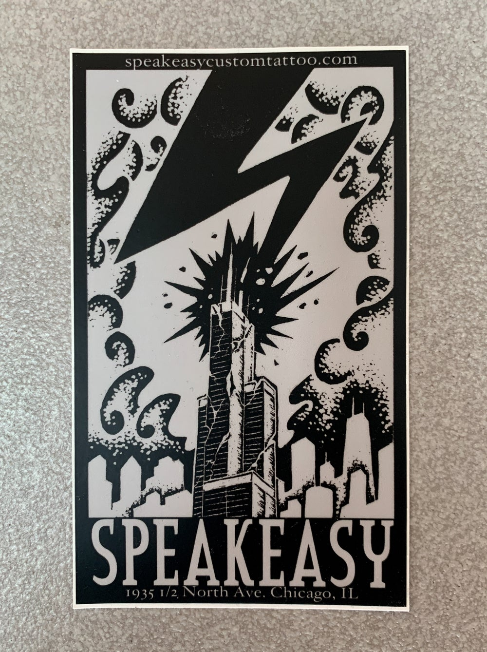 Image of Classic Speakeasy Logo Sticker