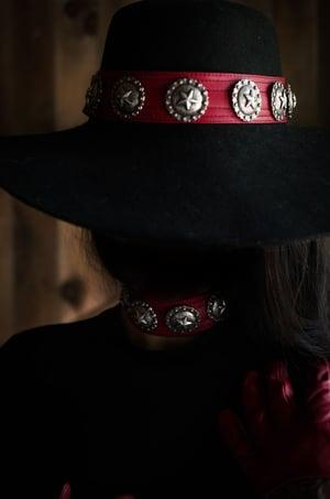 Image of Crimson Star Hat/Wristband