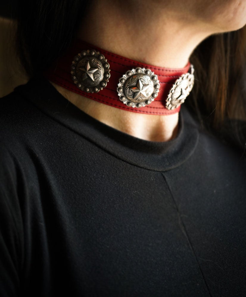 Image of Crimson Star Choker