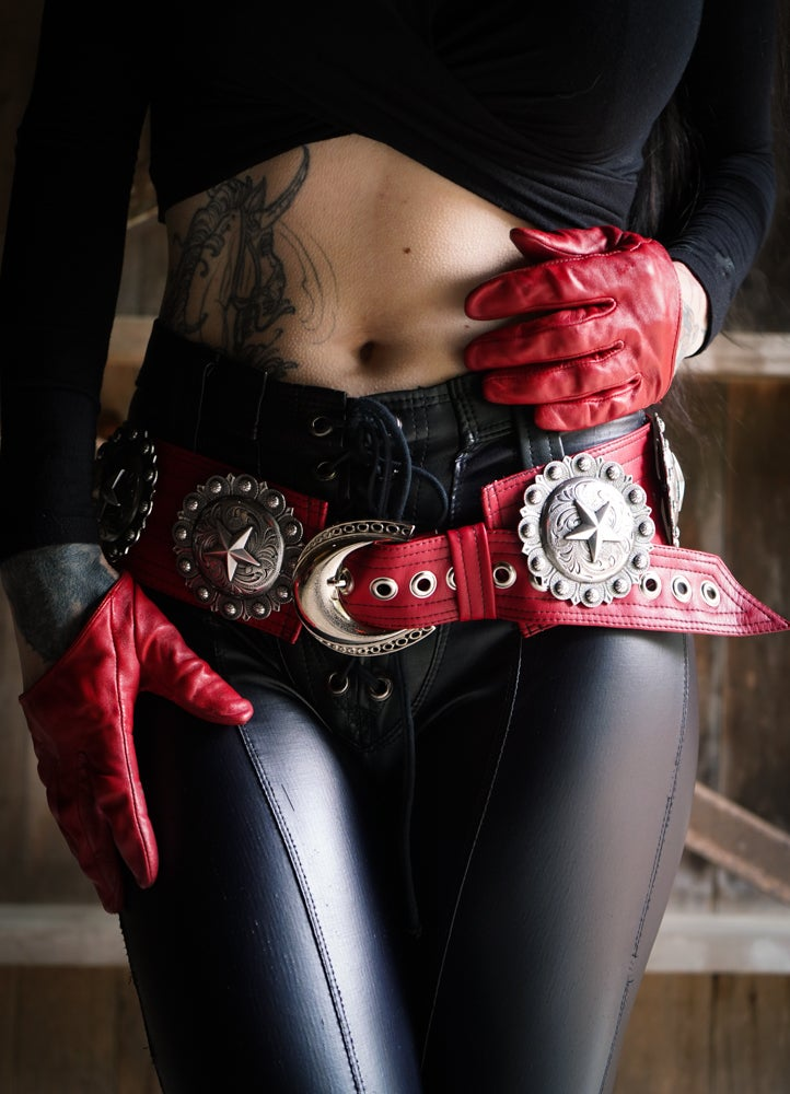 Image of Crimson Star Belt
