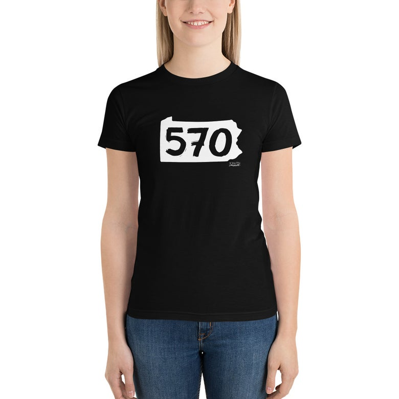 Image of Women's NEPA 570 Pennsylvania T-shirt