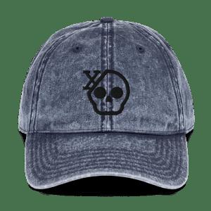 Image of Skull X Vintage Hat