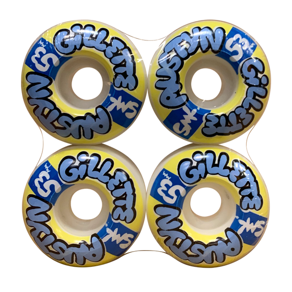 Image of SML Wheels - Gillette Bubbs 53mm 99A