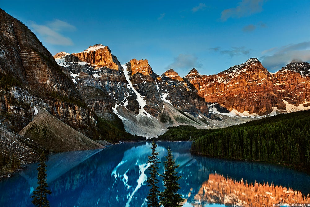 Image of High quality print of Moraine Lake 50x70 or 70x100cm