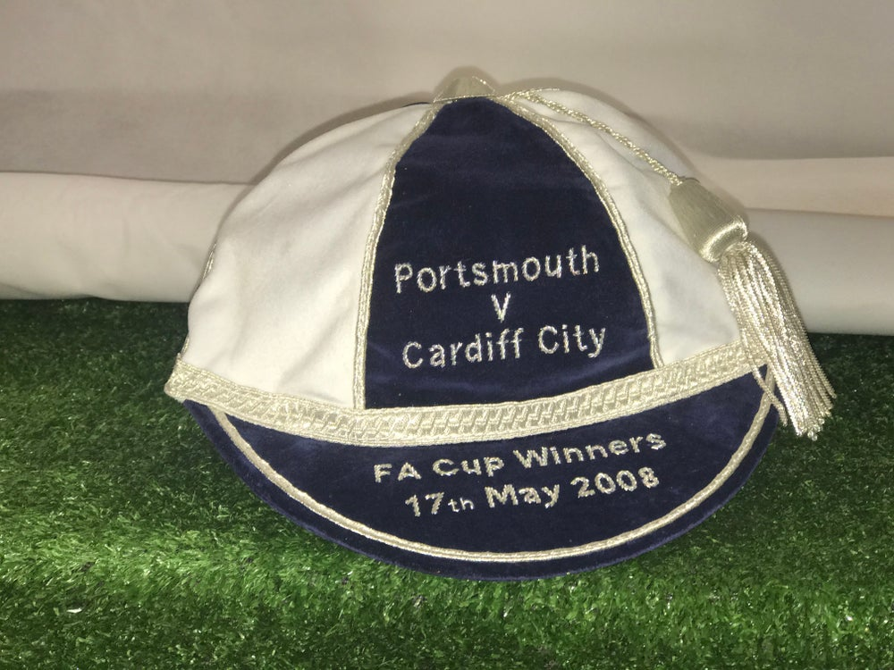 Image of Portsmouth FA Cup Winners Commemorative Cap