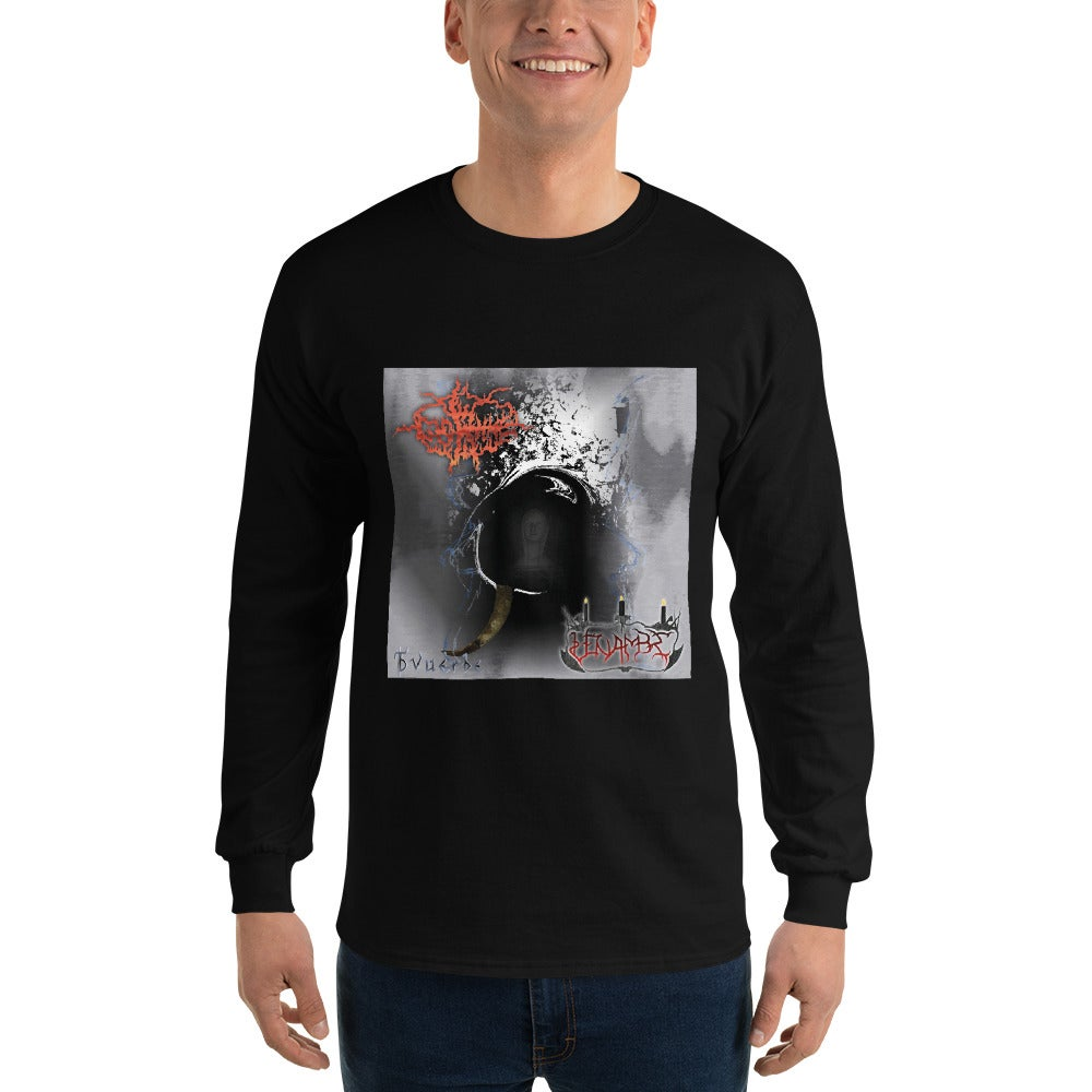 "Image of Glorhme/Vénambre ""Tvuèrbe"" Cover Long Sleeve T-Shirt"