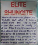 Elite Shungite Water Purifier Sachet