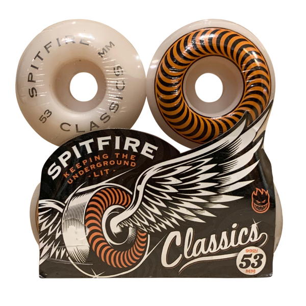 Image of Spitfire Classics Orange - 53mm 101A