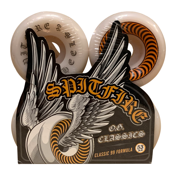 Image of Spitfire OG Classics Orange - 53mm 99A