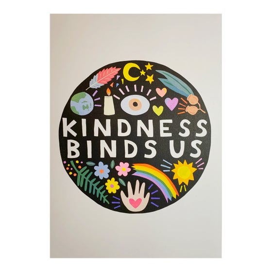Image of KINDNESS BINDS US A3