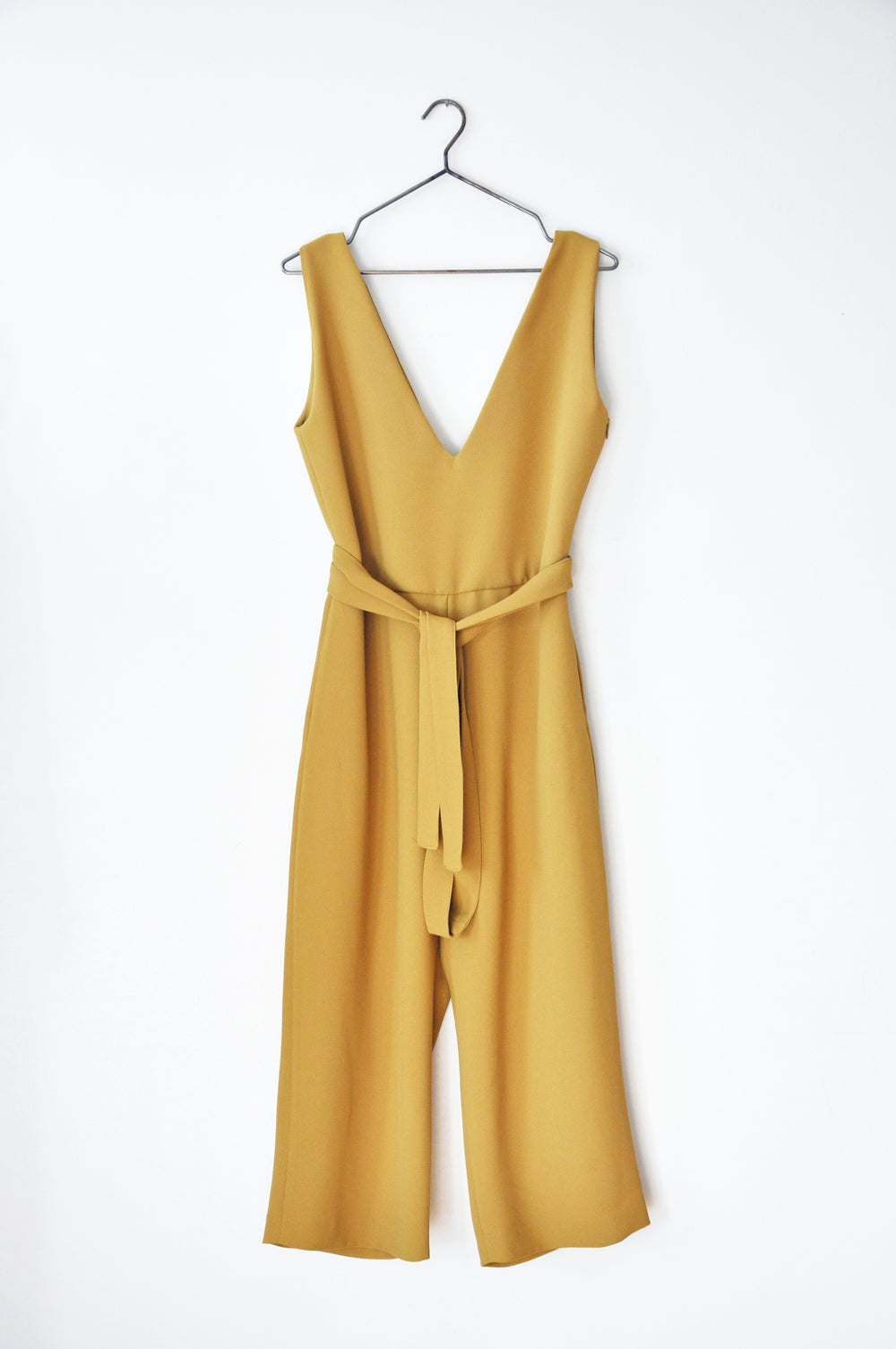 Image of BELTED JUMPSUIT