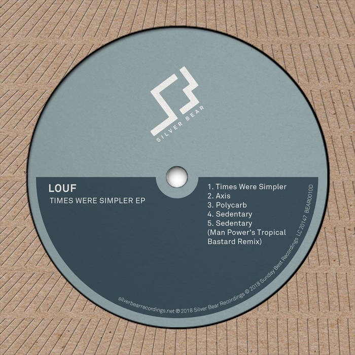 Image of Louf - Times Were Simpler EP