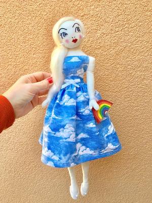 "Image of Skye Cloudy Dress Doll 15"""