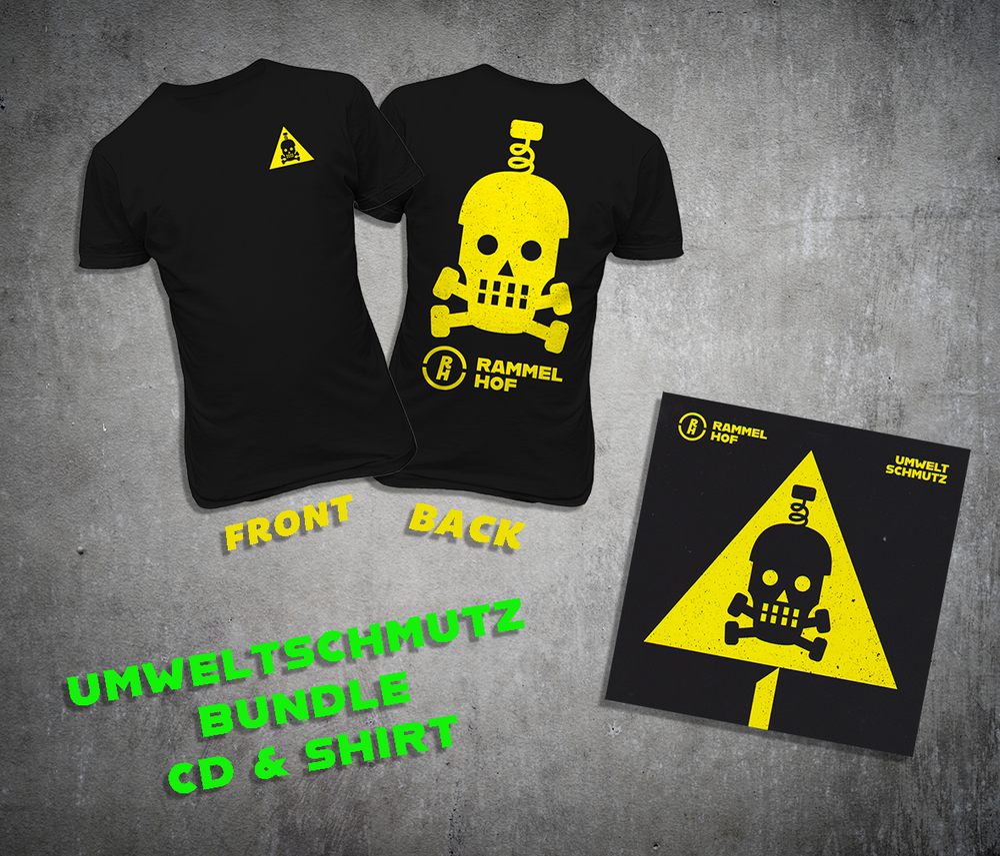 Image of Umweltschmutz Bundle (Shirt & CD)