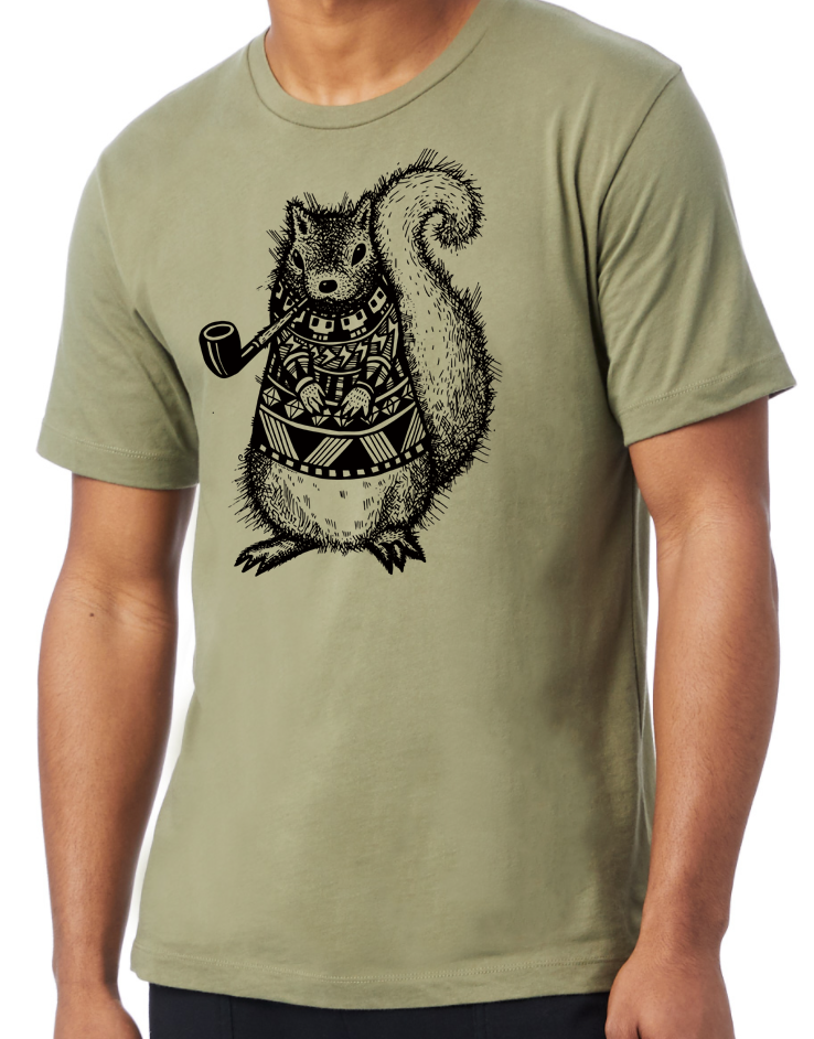 Image of Pretentious Squirrel Tee