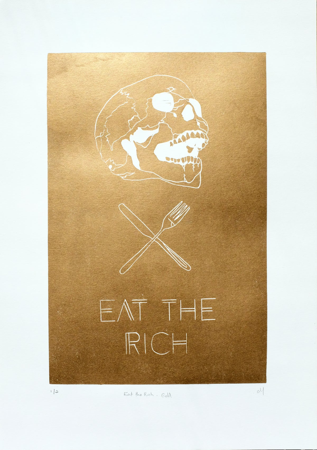 Eat The Rich - Gold