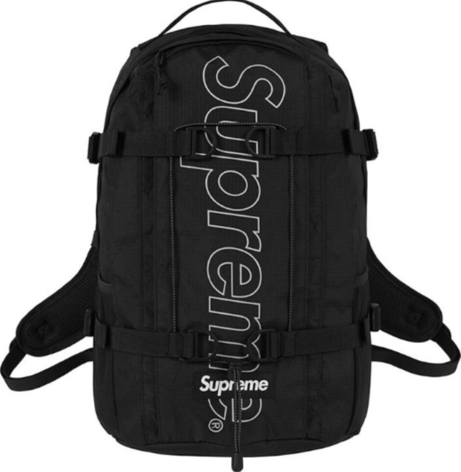 Image of Supreme Backpack (FW18) Black