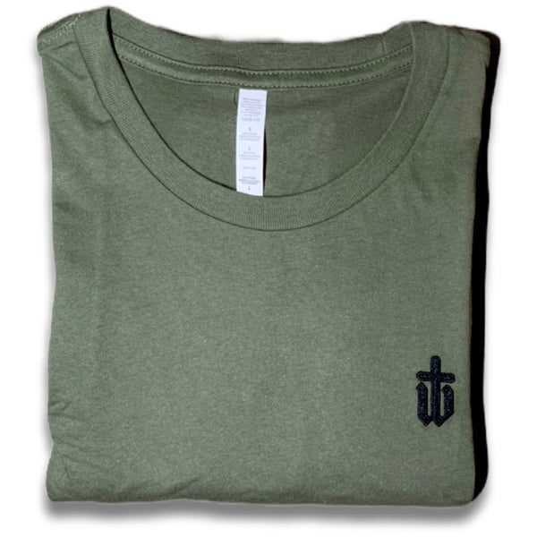 Image of CLASSIC OLIVE TEE