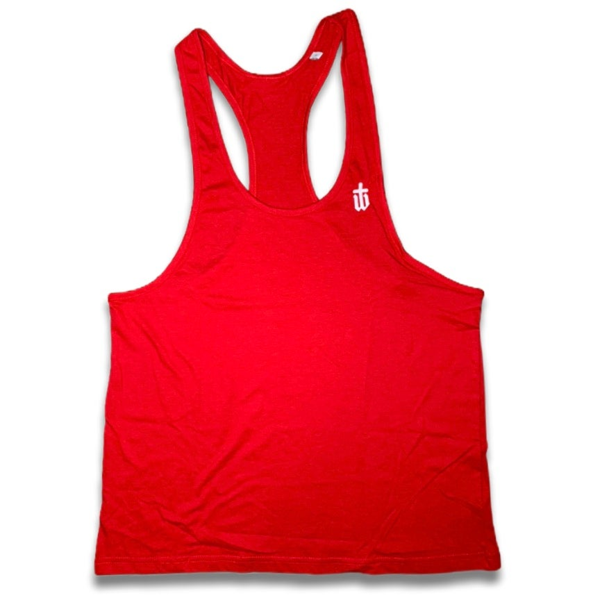Image of RED MUSCLE VEST