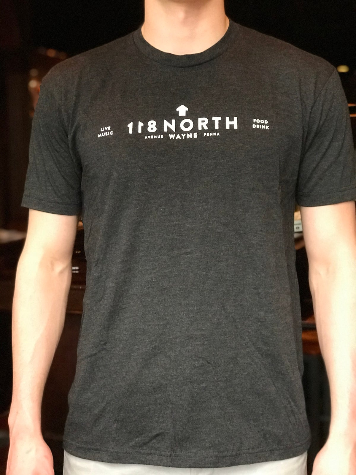 118 North Dark Grey T-Shirt