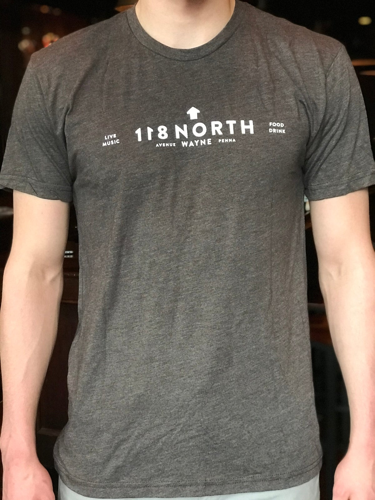 118 North Light Gray T-Shirt