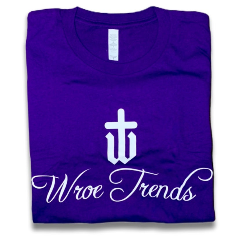 Image of PURPLE LOGO TEE