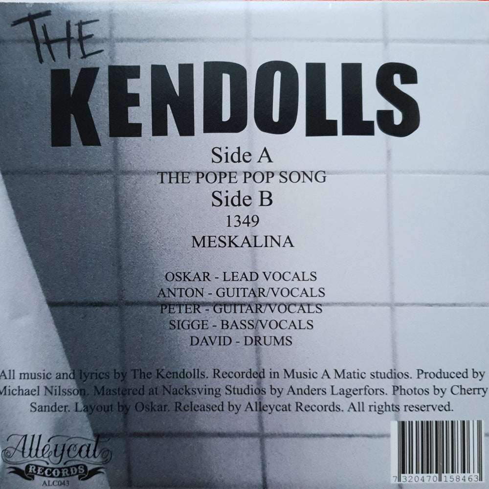 The Kendolls - Pope Pop Song