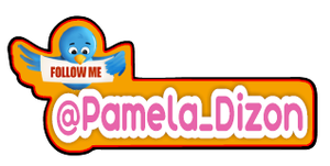 Image of 2010 Twitter Name Tag Badge: Pink
