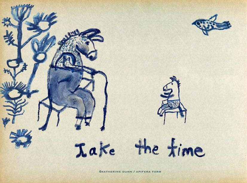 Image of Print: Take the Time