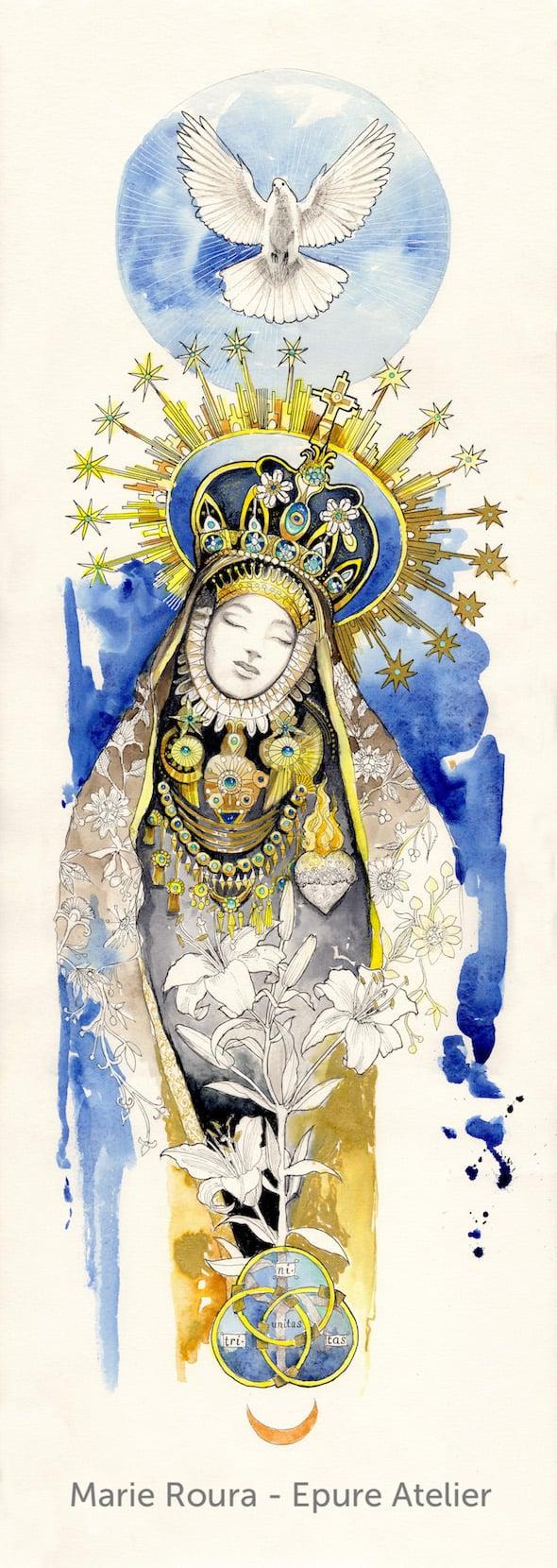 La Vierge aux étoiles