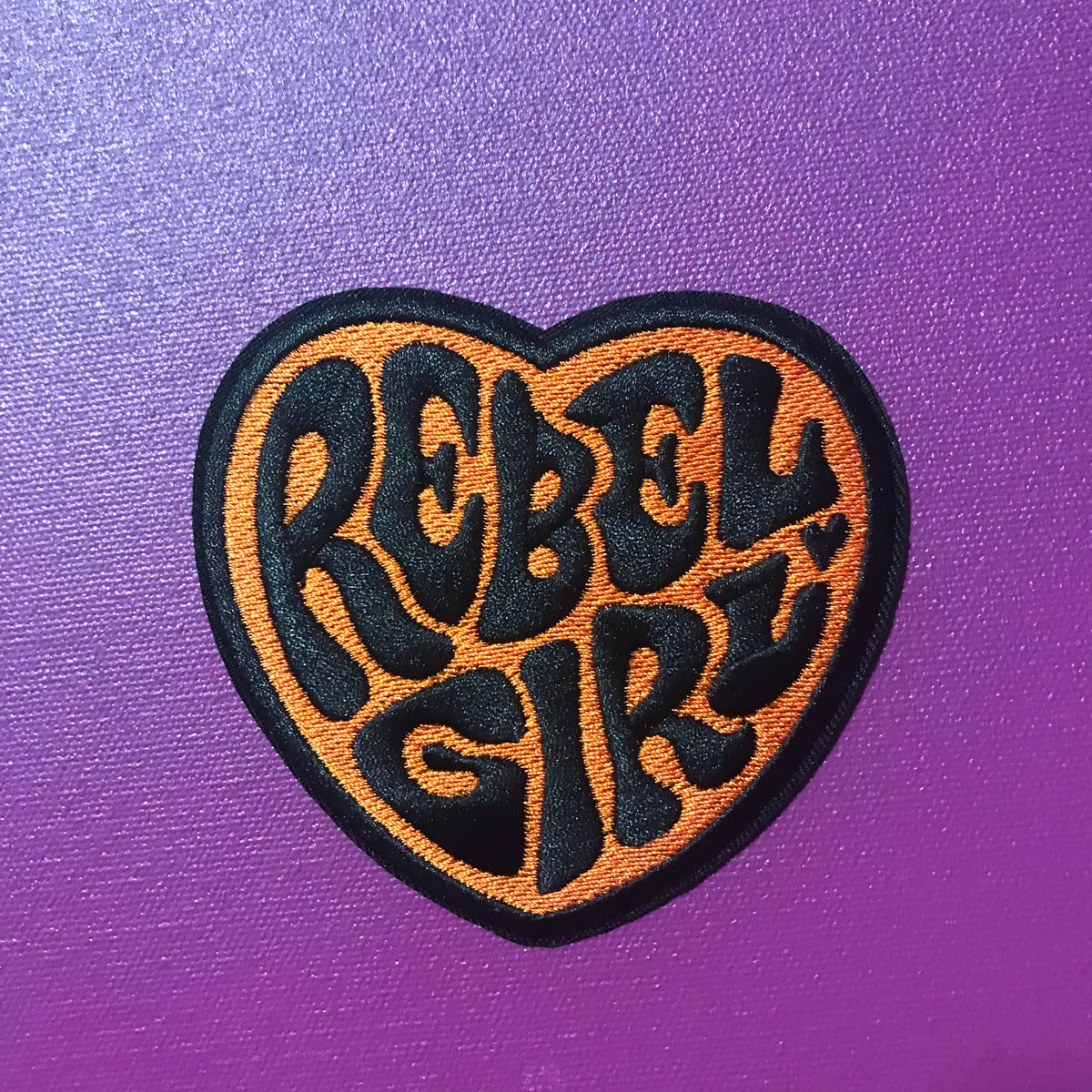 Image of Rebel Girl Heart Patch