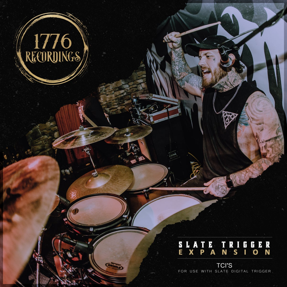 1776 Recordings Drums (For use with Slate Trigger)