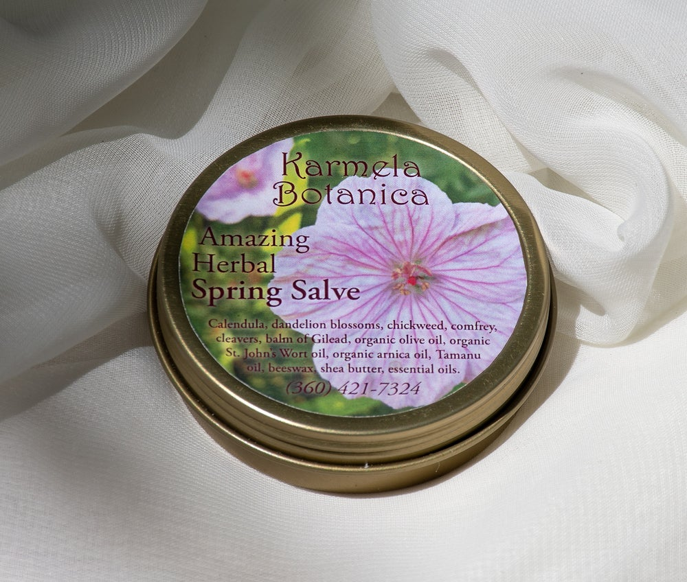 Image of Amazing Herbal Spring Salve