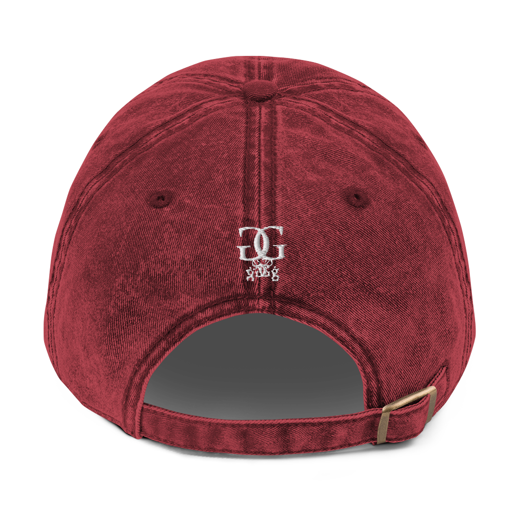 """Image of The """"Go Getta State Of Mind"""" Stone Wash Dad Cap"""