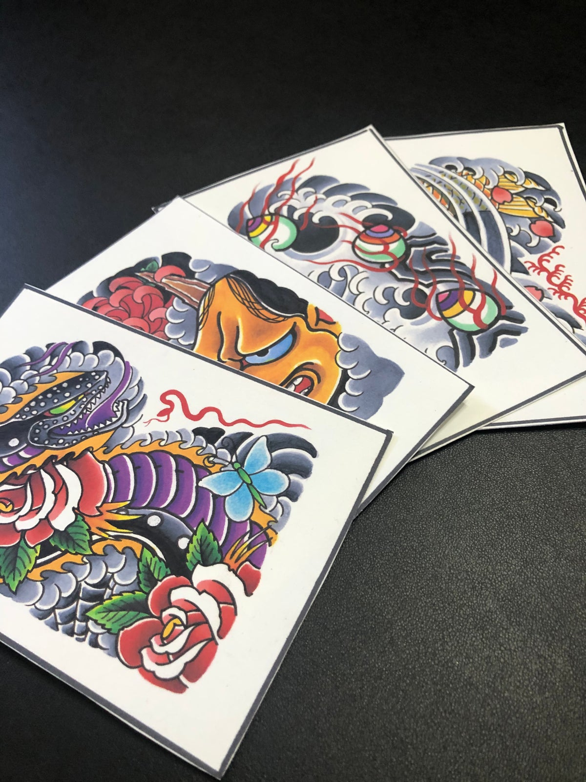 4x6 Half Sleeve Postcard Pack