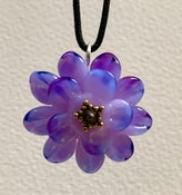 Image of Double flower pendants