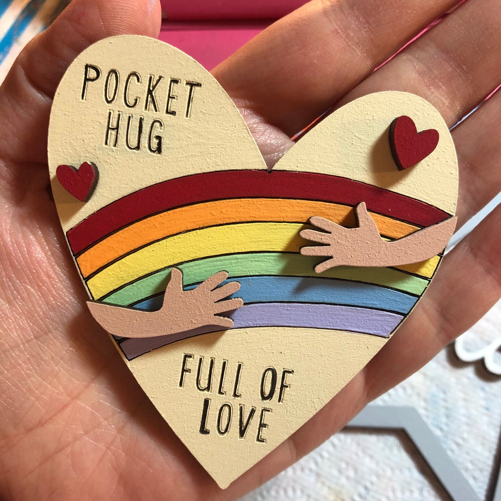 Image of Pocket Hug (magnet)