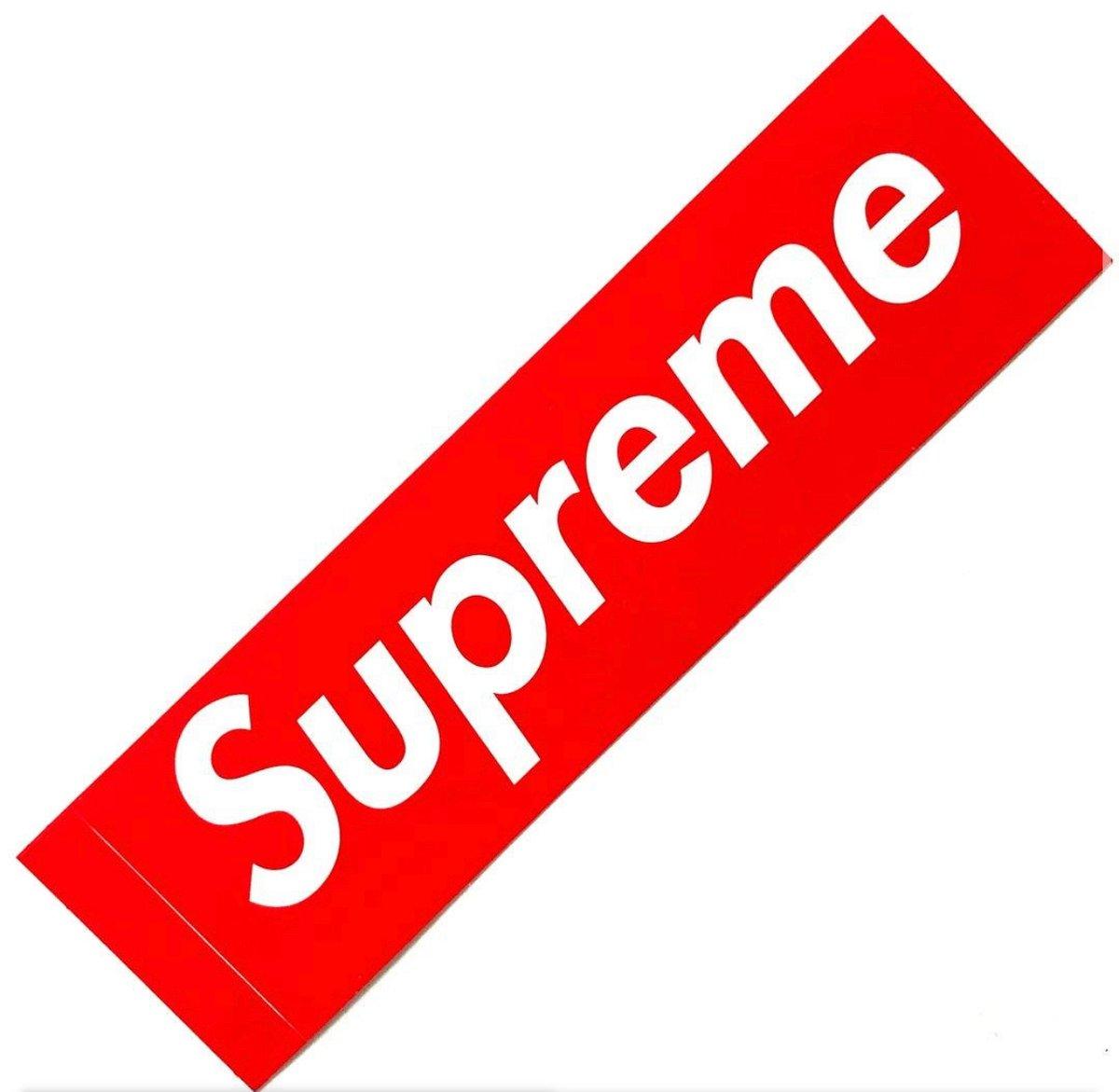 Image of Supreme sticker