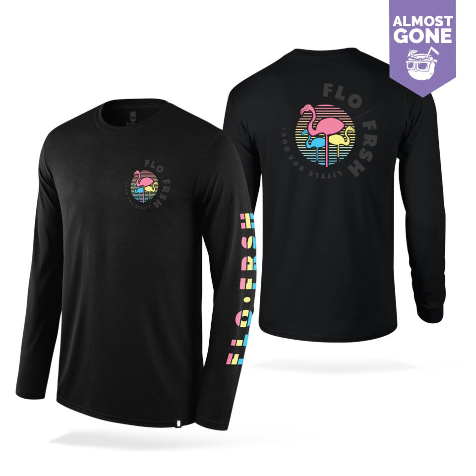 Image of Gradient Frsh Flamingos Long sleeve