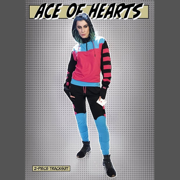Image of ACE OF HEARTS 2-PIECE TRACKSUIT (LIMITED EDITION)