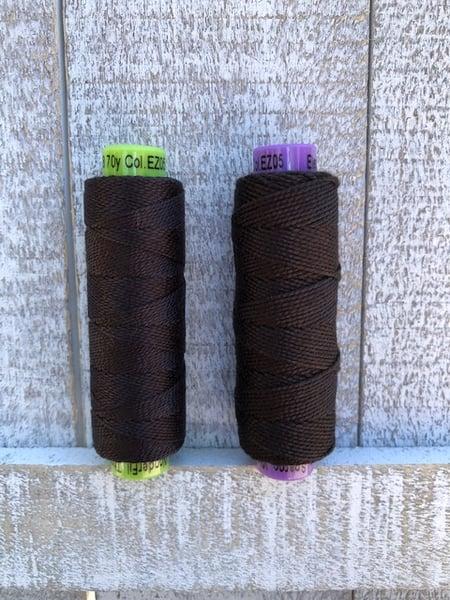 Image of Eleganza Perle Cotton EZ 05 Black Tie