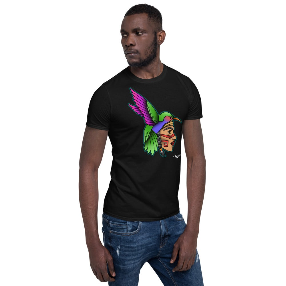 Image of Huitzil-Cihuatl Short-Sleeve Unisex T-Shirt