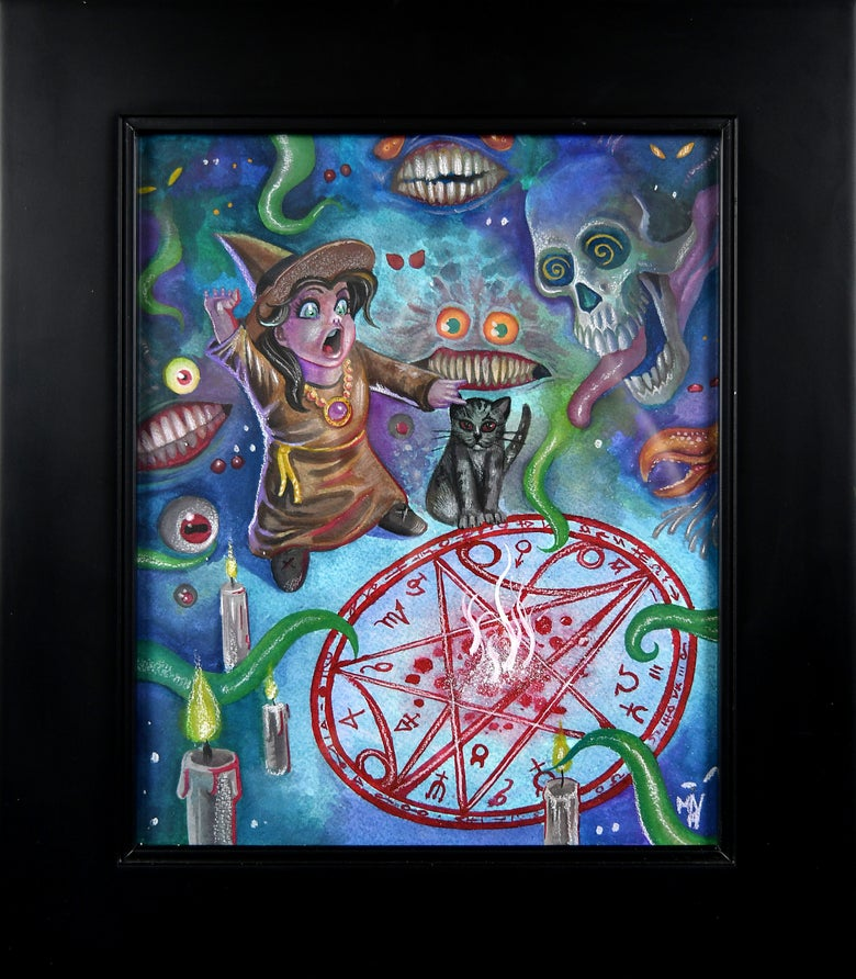"Image of ""Don't Summon What you Can't Put Back"" by Matt Vazquez"