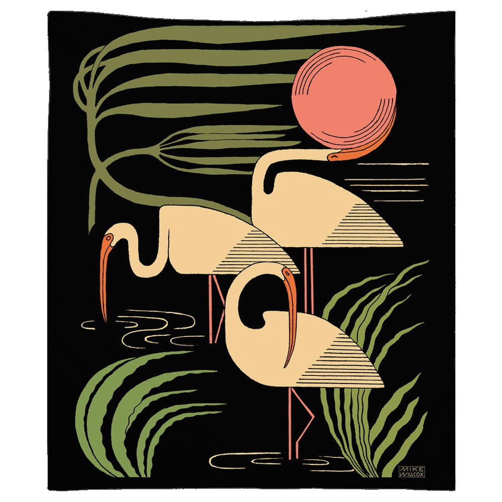 Image of Ibis & Hurricane Tapestry 3rd Edition - Seventies